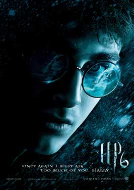 Harry Potter and the Half-Blood Prince - 27 x 40 Movie Poster - UK Style B