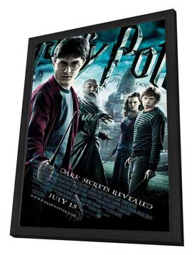 Harry Potter and the Half-Blood Prince - 27 x 40 Movie Poster - Style H - in Deluxe Wood Frame