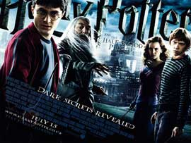 Harry Potter and the Half-Blood Prince - DS British Quad 30 x 40 - Style A