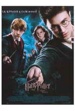 Harry Potter and the Order of the Phoenix - 27 x 40 Movie Poster - French Style A