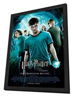 Harry Potter and the Order of the Phoenix - 11 x 17 Movie Poster - Style H - in Deluxe Wood Frame