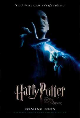 Harry Potter and the Order of the Phoenix - 27 x 40 Movie Poster - Style A