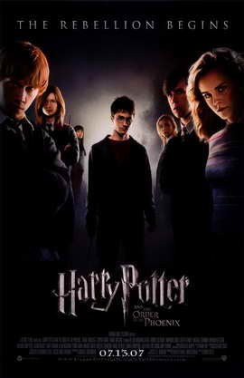 Harry Potter and the Order of the Phoenix - 11 x 17 Movie Poster - Style B