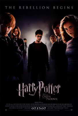 Harry Potter and the Order of the Phoenix - 27 x 40 Movie Poster - Style B