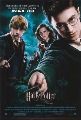 Harry Potter and the Order of the Phoenix - 27 x 40 Movie Poster - Style C