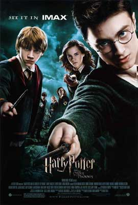 Harry Potter and the Order of the Phoenix - 27 x 40 Movie Poster - Style D
