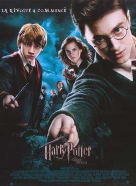 Harry Potter and the Order of the Phoenix - 11 x 17 Movie Poster - French Style A