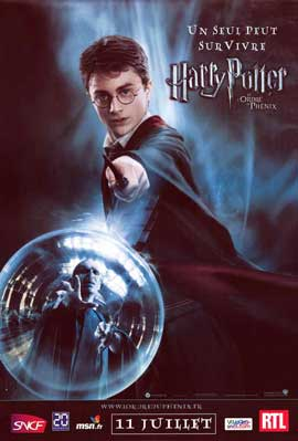 Harry Potter and the Order of the Phoenix - 11 x 17 Movie Poster - French Style B