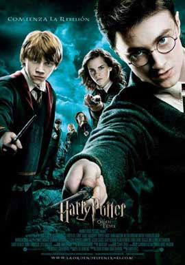 Harry Potter and the Order of the Phoenix - 11 x 17 Movie Poster - Spanish Style A