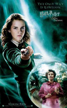 Harry Potter and the Order of the Phoenix - 27 x 40 Movie Poster - Style J