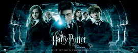 Harry Potter and the Order of the Phoenix - 14 x 36 Movie Poster - UK Insert Style A