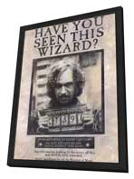 Harry Potter and the Prisoner of Azkaban - 11 x 17 Movie Poster - Style A - in Deluxe Wood Frame