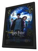 Harry Potter and the Prisoner of Azkaban - 27 x 40 Movie Poster - Style C - in Deluxe Wood Frame