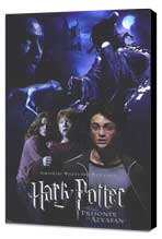 Harry Potter and the Prisoner of Azkaban - 11 x 17 Movie Poster - Style D - Museum Wrapped Canvas