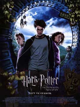 Harry Potter and the Prisoner of Azkaban - 11 x 17 Movie Poster - French Style A