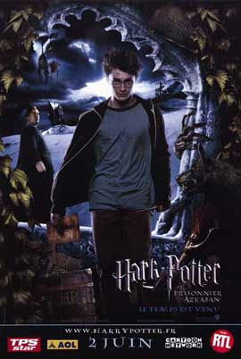 Harry Potter and the Prisoner of Azkaban - 11 x 17 Movie Poster - French Style B
