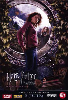 Harry Potter and the Prisoner of Azkaban - 11 x 17 Movie Poster - French Style C