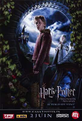 Harry Potter and the Prisoner of Azkaban - 11 x 17 Movie Poster - French Style D