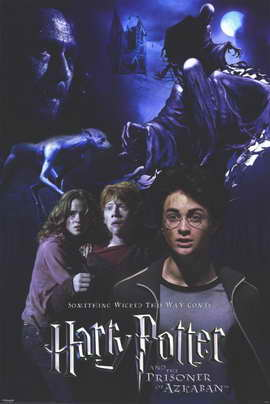 Harry Potter and the Prisoner of Azkaban - 11 x 17 Movie Poster - Style D