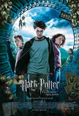 Harry Potter and the Prisoner of Azkaban - 11 x 17 Movie Poster - Style F