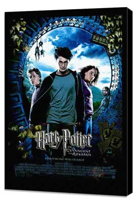 Harry Potter and the Prisoner of Azkaban - 11 x 17 Movie Poster - Dutch Style A - Museum Wrapped Canvas