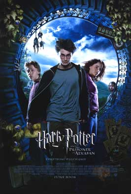Harry Potter and the Prisoner of Azkaban - DS 1 Sheet Movie Poster - Style B
