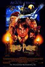 Harry Potter and the Sorcerer's Stone - 27 x 40 Movie Poster - Style A