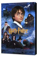Harry Potter and the Sorcerer's Stone - 11 x 17 Movie Poster - Style B - Museum Wrapped Canvas
