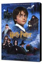 Harry Potter and the Sorcerer's Stone - 27 x 40 Movie Poster - Style B - Museum Wrapped Canvas