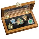 Harry Potter and the Sorcerer's Stone - Hogwarts House Crest Pin Set