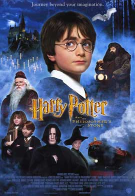 Harry Potter and the Sorcerer's Stone - 11 x 17 Movie Poster - Style B