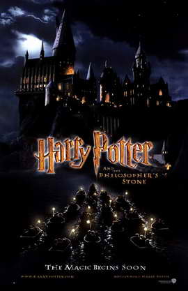 Harry Potter and the Sorcerer's Stone - 11 x 17 Movie Poster - Style C
