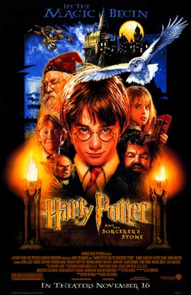 Harry Potter and the Sorcerer's Stone - 11 x 17 Movie Poster - Style A