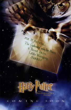 Harry Potter and the Sorcerer's Stone - 11 x 17 Movie Poster - Style E