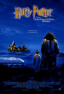 Harry Potter and the Sorcerer's Stone - 11 x 17 Movie Poster - Style D