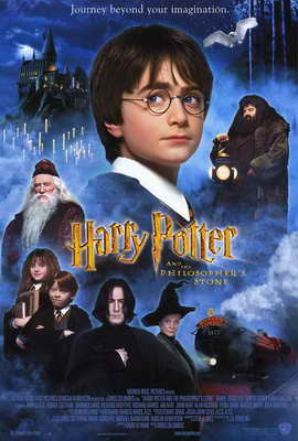 Harry Potter and the Sorcerer's Stone - 27 x 40 Movie Poster - Style B
