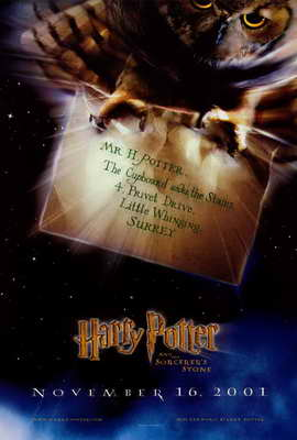 Harry Potter and the Sorcerer's Stone - 27 x 40 Movie Poster - Style C