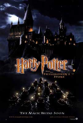 Harry Potter and the Sorcerer's Stone - 27 x 40 Movie Poster - Style D