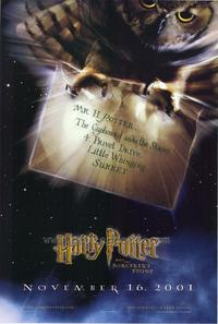 Harry Potter and the Sorcerer's Stone - 43 x 62 Movie Poster - Bus Shelter Style A