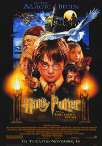 Harry Potter and the Sorcerer's Stone - 43 x 62 Movie Poster - Bus Shelter Style B