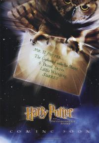 Harry Potter and the Sorcerer's Stone - 11 x 17 Movie Poster - Style E - Museum Wrapped Canvas