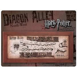 Harry Potter and the Sorcerer's Stone - Diagon Alley Map Framed Replica