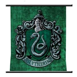 Harry Potter and the Sorcerer's Stone - Slytherin Crest Wall Scroll