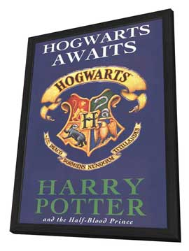 Harry Potter Book Covers - 11 x 17 Movie Poster - Style F - in Deluxe Wood Frame
