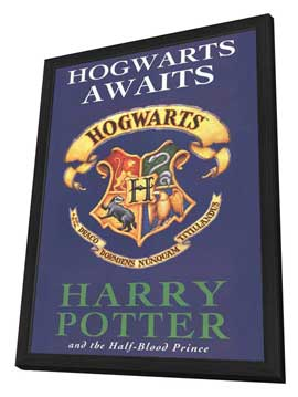 Harry Potter Book Covers - 27 x 40 Movie Poster - Style F - in Deluxe Wood Frame