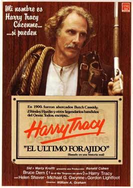 Harry Tracy, Desperado - 11 x 17 Movie Poster - Spanish Style A