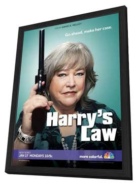 Harry's Law - 11 x 17 TV Poster - Style A - in Deluxe Wood Frame