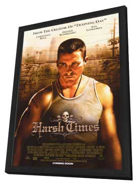 Harsh Times - 11 x 17 Movie Poster - Style A - in Deluxe Wood Frame