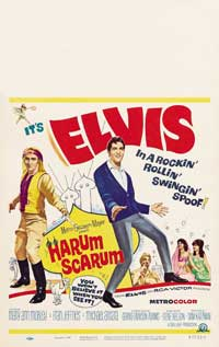 Harum Scarum - 43 x 62 Movie Poster - Bus Shelter Style A
