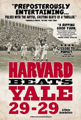 Harvard Beats Yale 29-29 - 11 x 17 Movie Poster - Style A